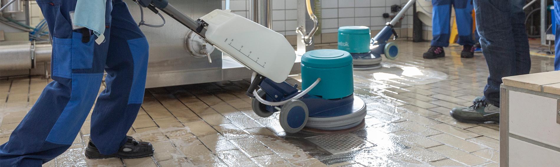 Szkolenie z zakresu czyszczenia w Mibelle Group w Buchs