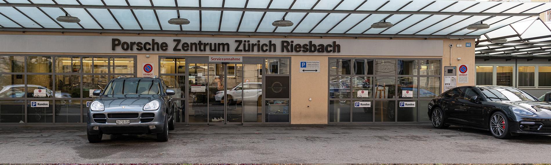 Nettoyage au Porsche Centre Zurich